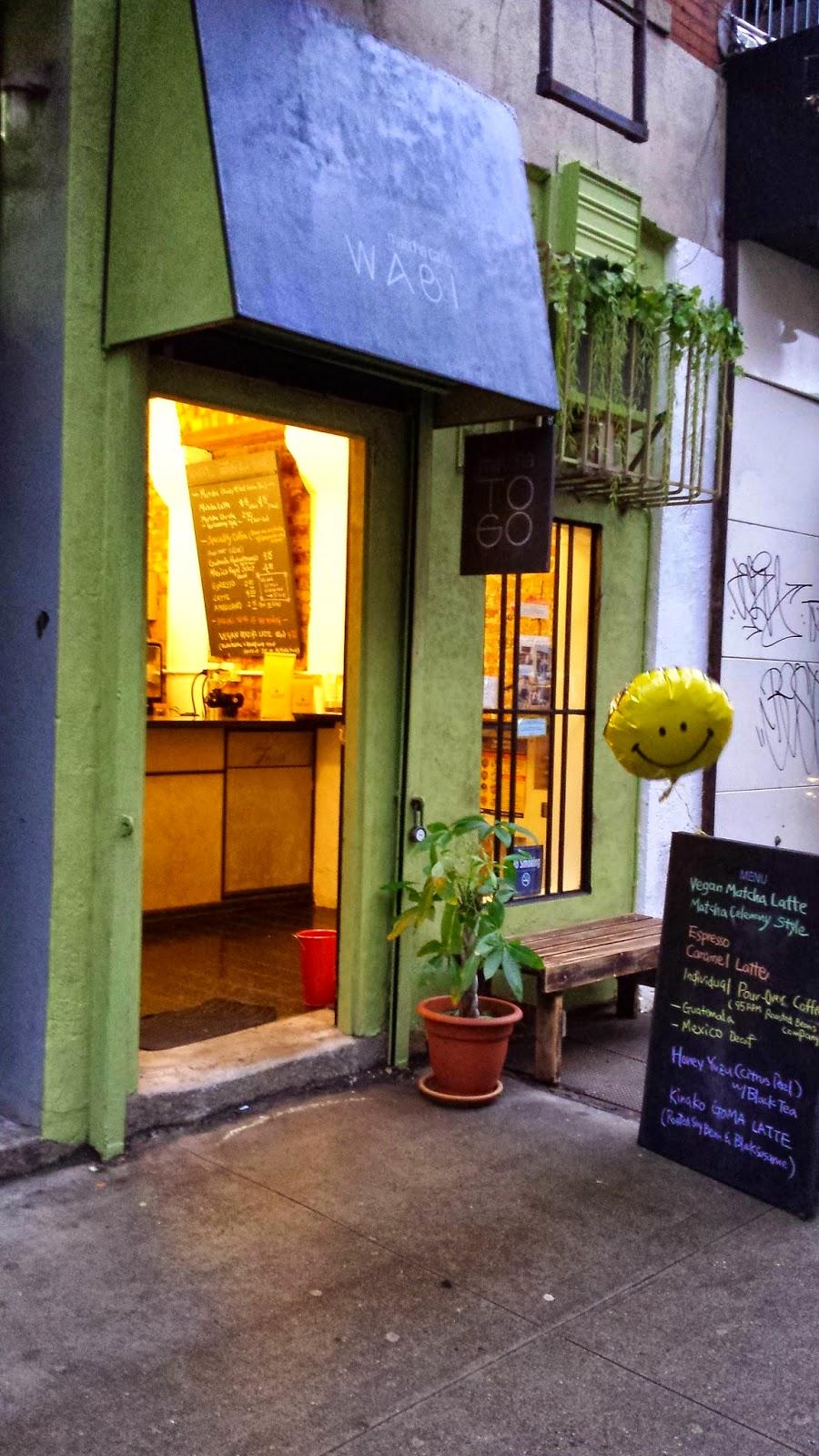 Tea Places: Matcha Cafe Wabi