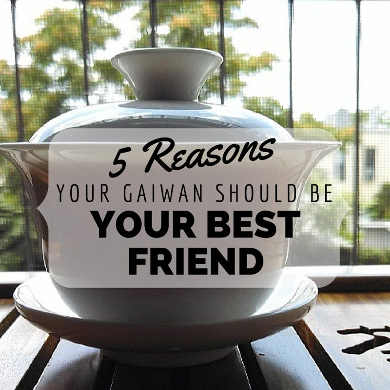 5 Reasons Your Gaiwan Should Be Your Best Friend