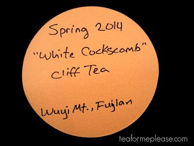 Global Tea Hut: June 2015 – White Cockscomb