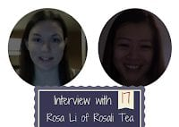 Podcast Episode 17: Interview with Rosa Li of Rosali Tea