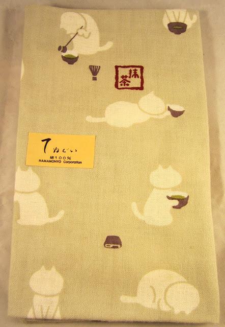 Tea Towel - Cats Making Matcha