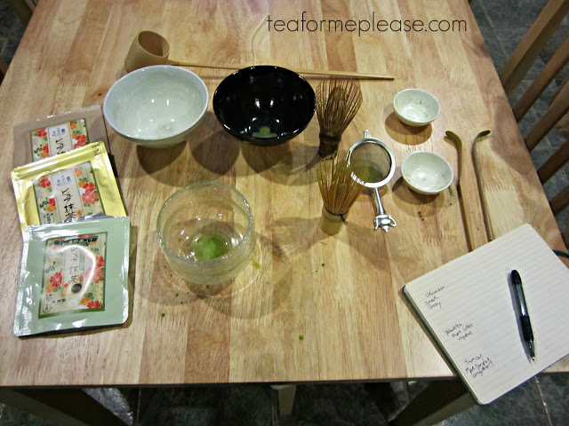 Comparing Matcha Cultivars with Yunomi