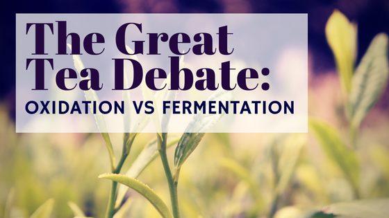 The Great Tea Debate: Oxidation vs Fermentation