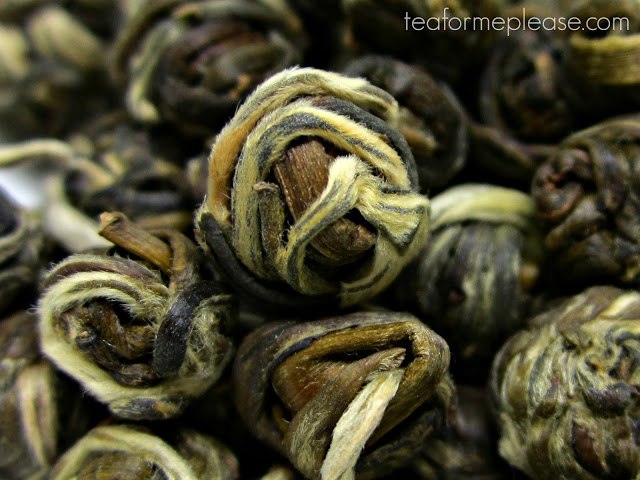 Bitterleaf Teas Pearl Buds 2015 Spring Jasmine Ball Green Tea