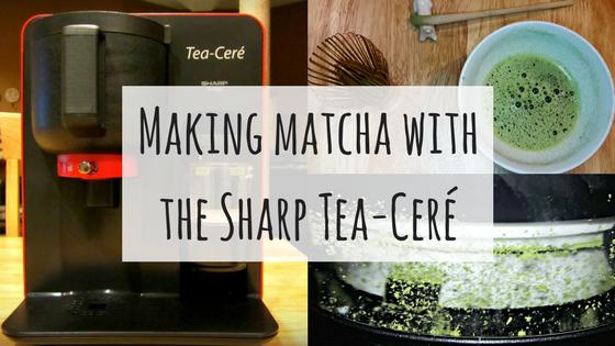 Making Matcha with the Sharp Tea-Ceré