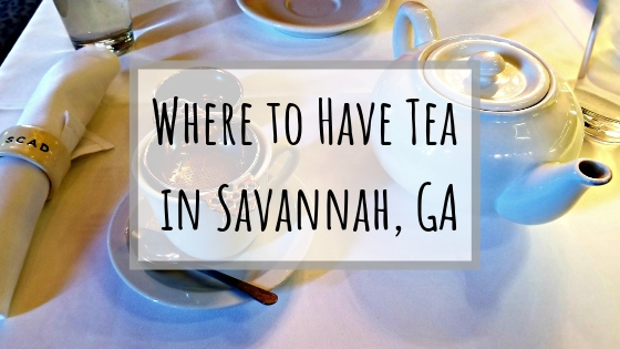 Where to Have Tea in Savannah, GA