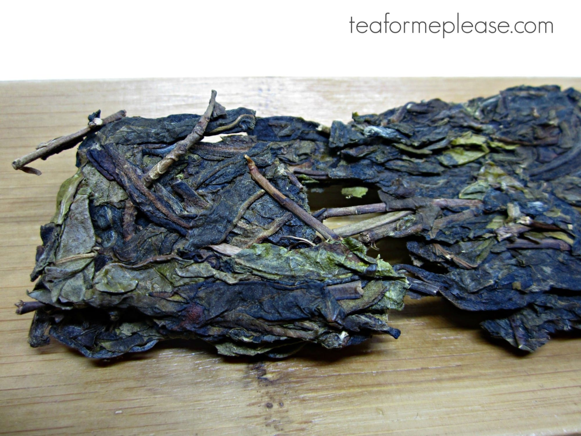 Bitterleaf Teas Alter Ego 2017 Spring Mansa Ancient Tree Huang Pian Raw Puer