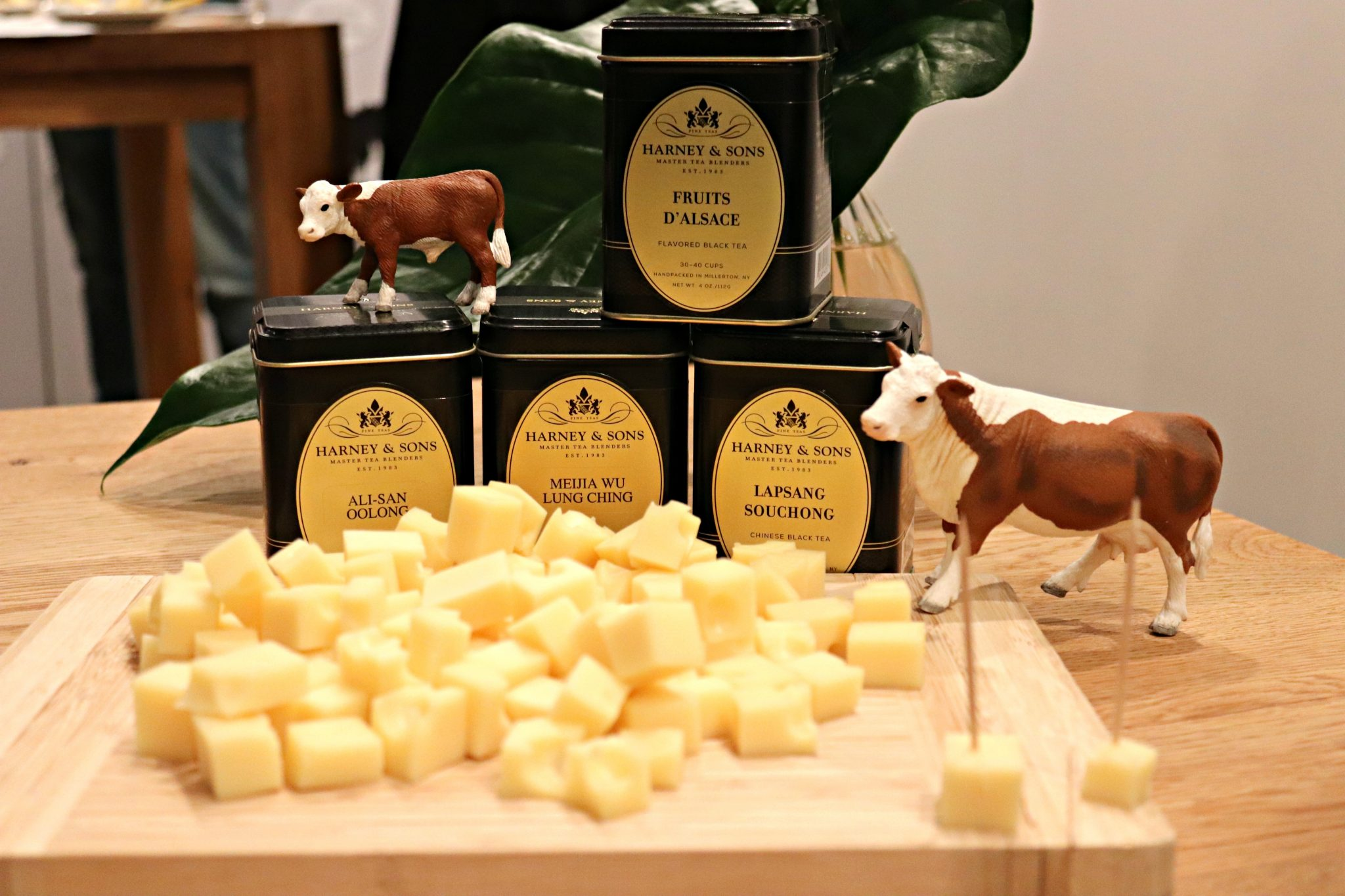 Tea & Fromage with The French Cheese Board and Harney & Sons