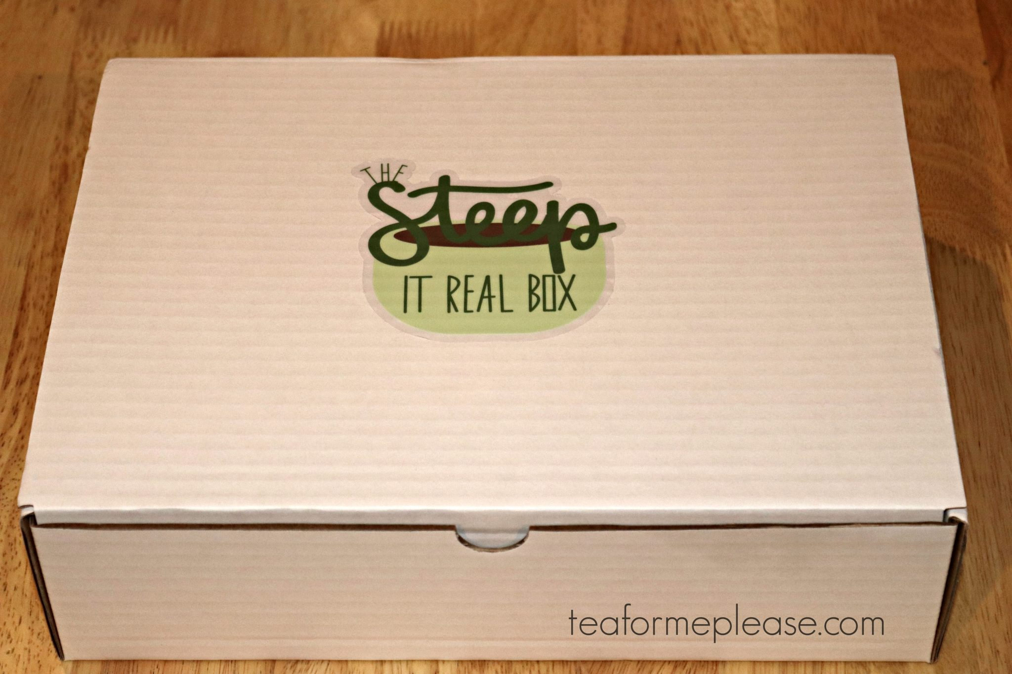 Tea Thoughts Steep It Real Box
