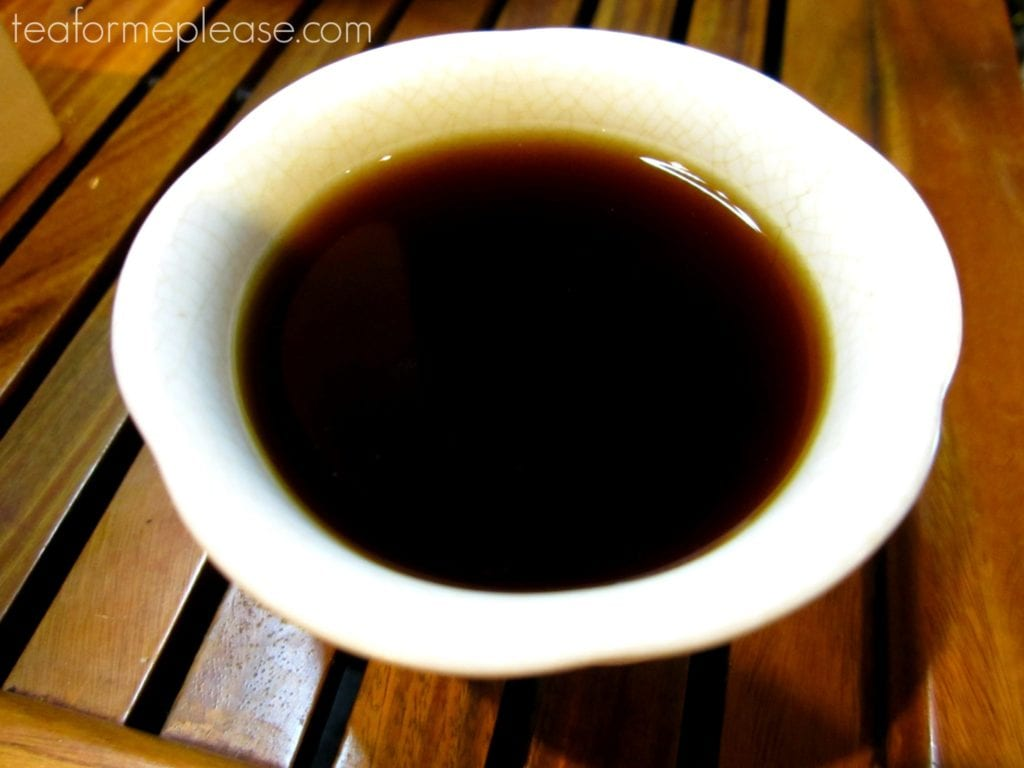 Rama Lama Bulang brewed tea