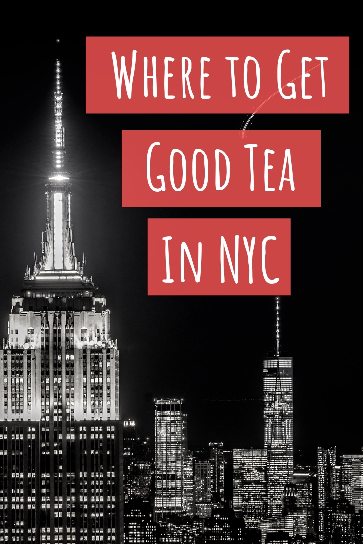 Where to Get Good Tea in NYC