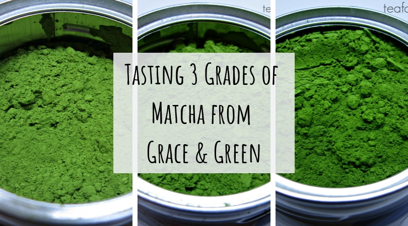 Tasting 3 Grades of Matcha from Grace & Green