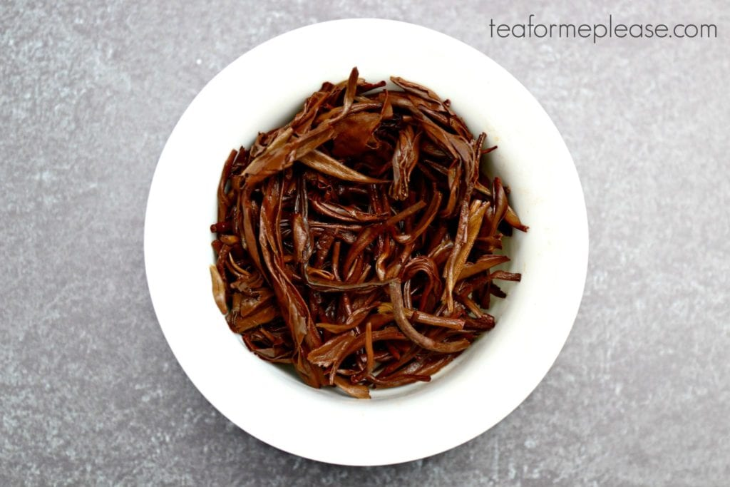 Masters Jing Kong Que after brewing