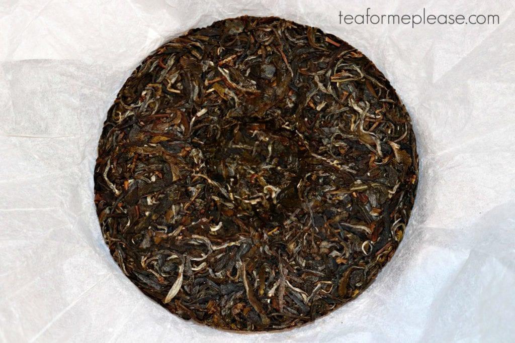 Crimson Lotus Tea Daydream puerh cake