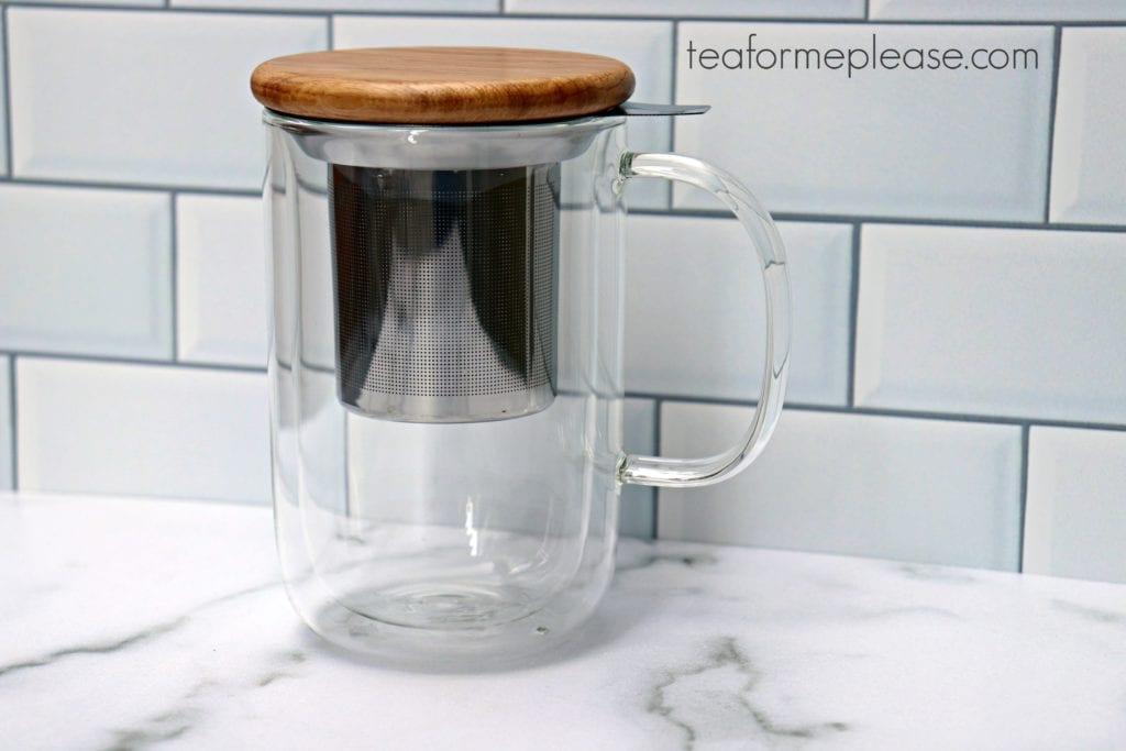 Minimal Balance Double Walled Tea Mug from VIVA Scandinavia
