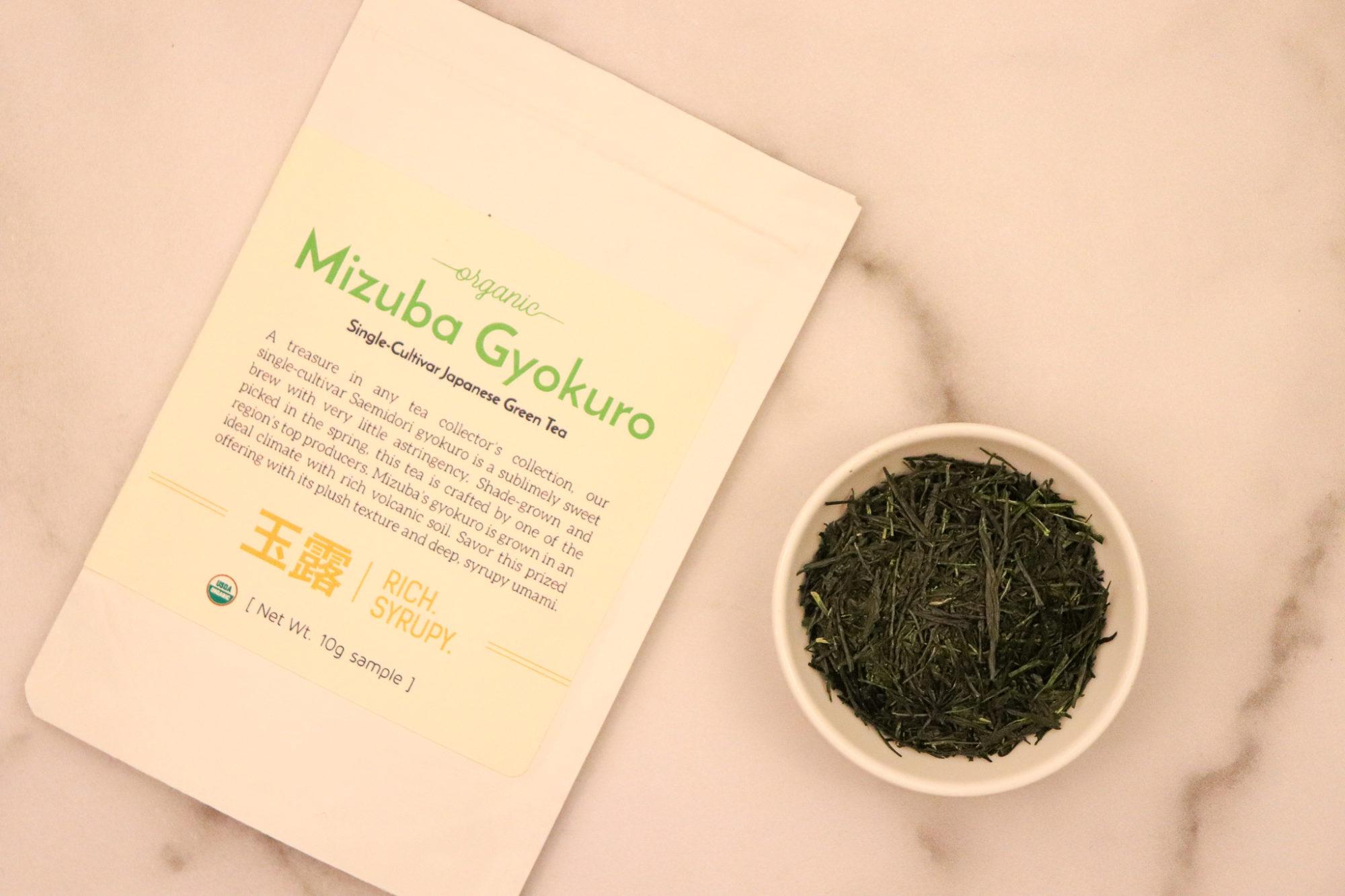 Mizuba Tea Co. Organic Gyokuro