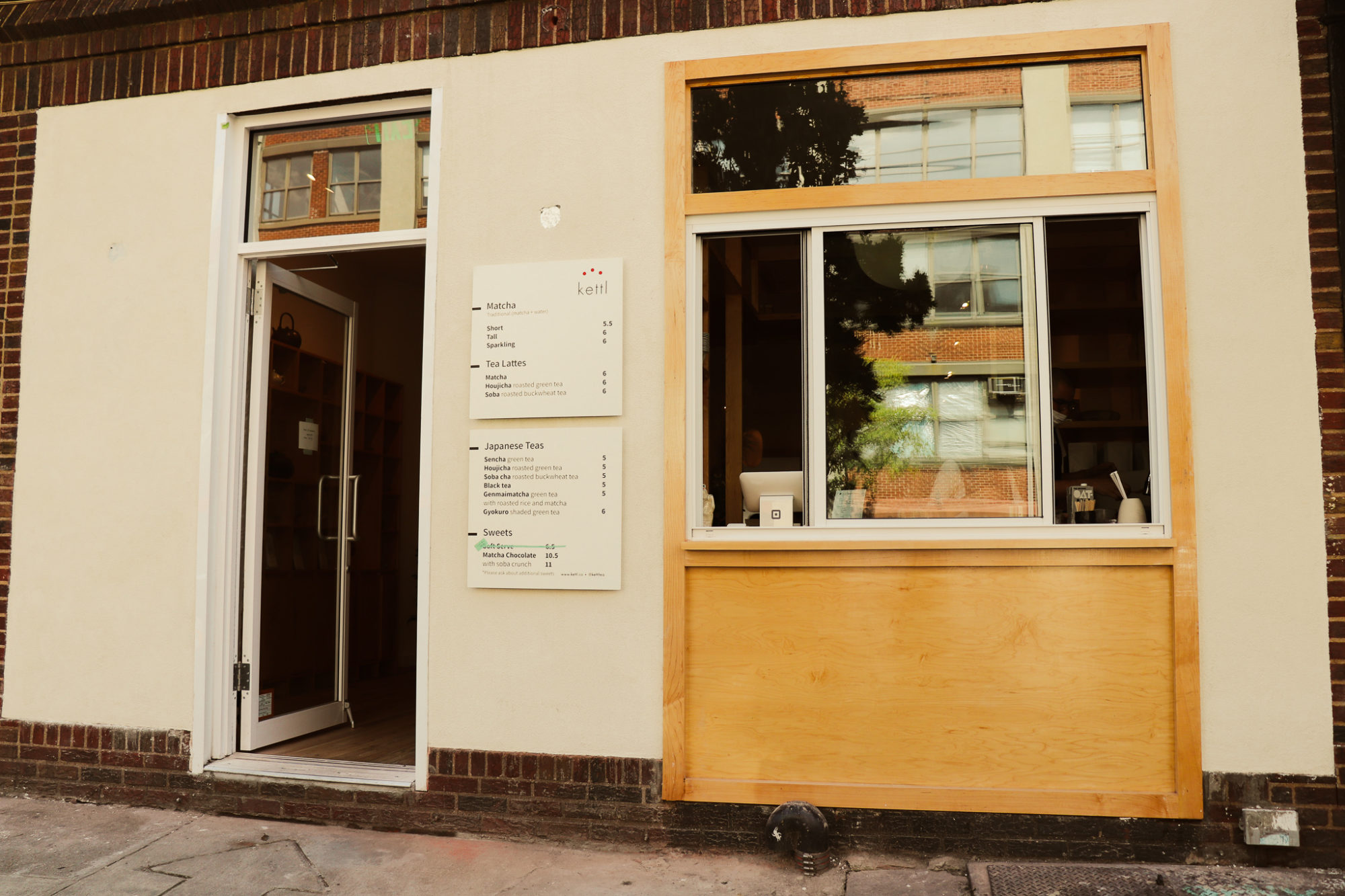 Tea Places: Kettl Flagship Cafe Brooklyn